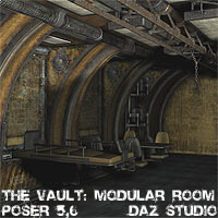 The Vault - Modular Room 3D Models coflek-gnorg