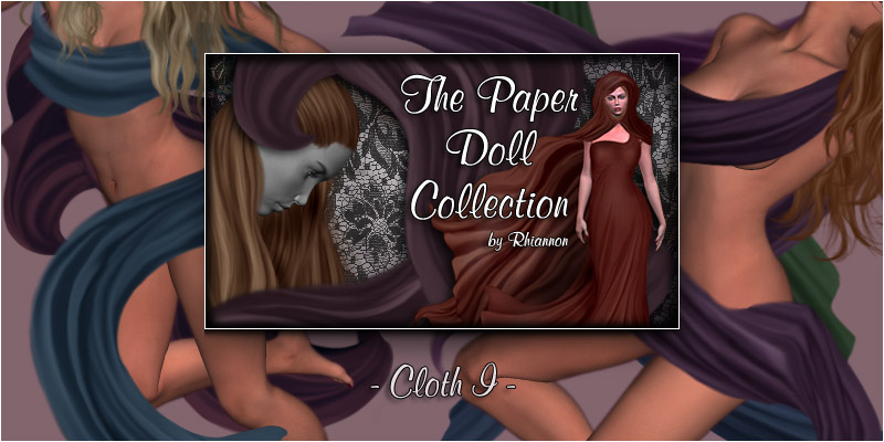 The Paper  Doll Collection - Cloth I
