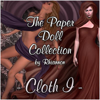 The Paper  Doll Collection - Cloth I 2D Graphics RPublishing
