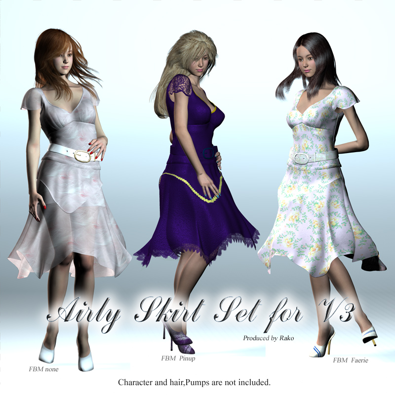 Airly skirt set V3