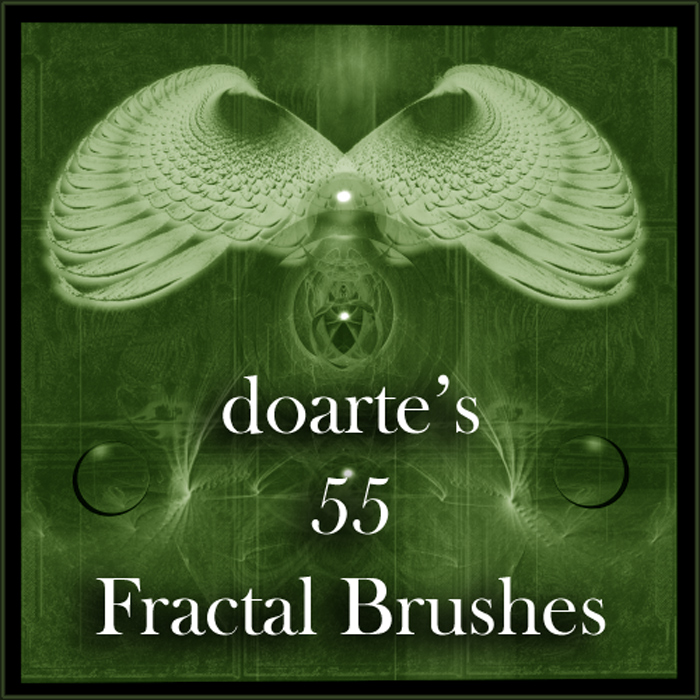 Doarte's 55 Fractal Brushes