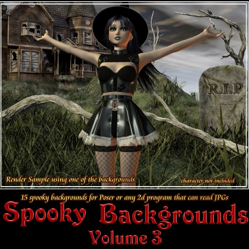 Spooky Backgrounds Vol 3