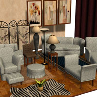 Studio Environment Set 3D Models Richabri