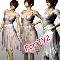 Airly skirt set TY2 3D Figure Essentials kobamax