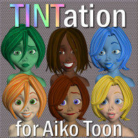 TINTation for Aiko Toon by judee3d