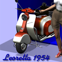 Leoretta 1954  Digital-Lion
