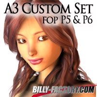 A3 Custom Set for P6&P5 3D Figure Assets billy-t