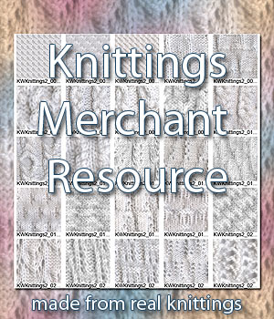 Knittings Vol.2 - A Merchant Resource 2D Graphics Merchant Resources karanta