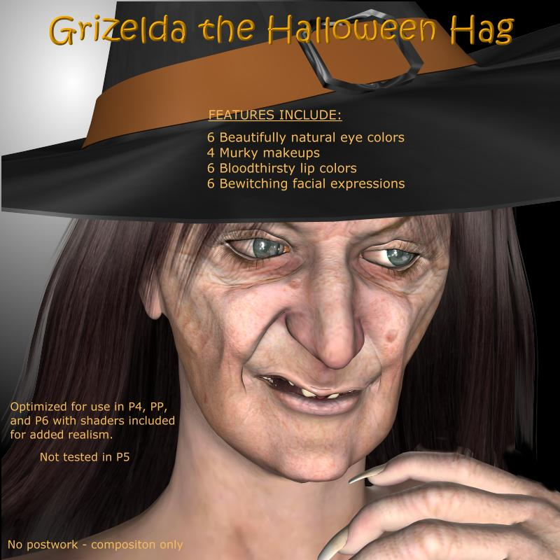 Grizelda the Halloween Hag