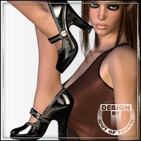 Collection: 2 Pumps & Socks by idler168 3D Figure Essentials outoftouch