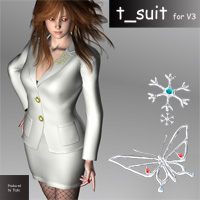 T_suit for V3 3D Figure Essentials kobamax