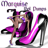 Marquise Collection for the Idol Support Kit #1: Pumps  SaintFox