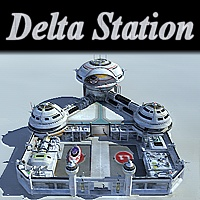 Delta station Props/Scenes/Architecture Themed vbarreto