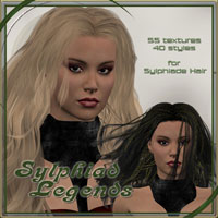 ** Sylphiade Legends  - Real Hair and Styles for Sylphiad Hair**  ilona