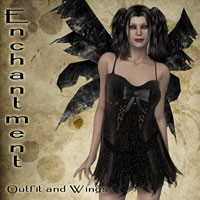 Enchantment - Outfit & Wings by NocturnalRamble