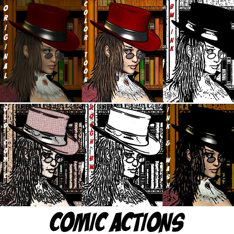 Comic Actions