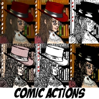 Comic Actions 2D AdamWright