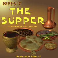 Pappy's The Supper 3D Models pappy411