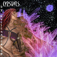 Crystals Themed Props/Scenes/Architecture Software EvilInnocence