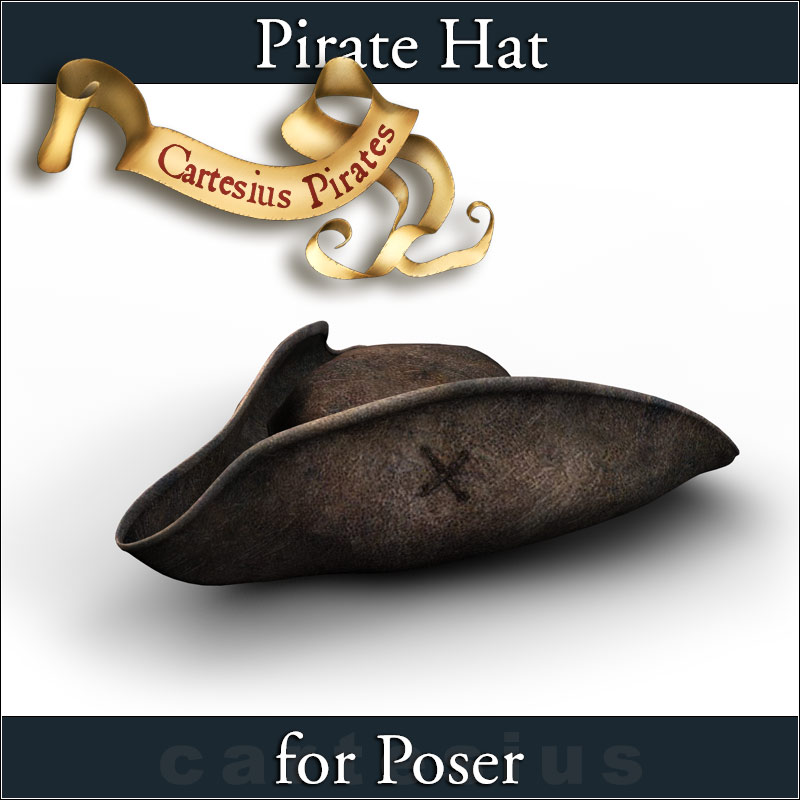 Pirate Hat by cartesius