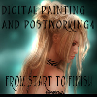 Digital Painting and Postworking 4 Tutorials : Learn 3D chevybabe25