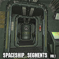 Spaceship Segment Vol1 3D Models coflek-gnorg