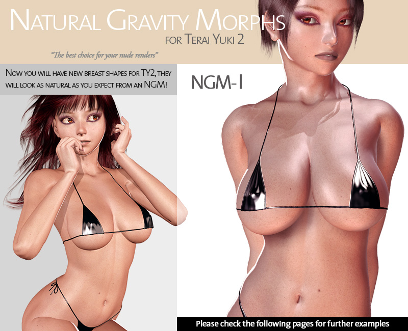 Natural Gravity Morphs for TY2