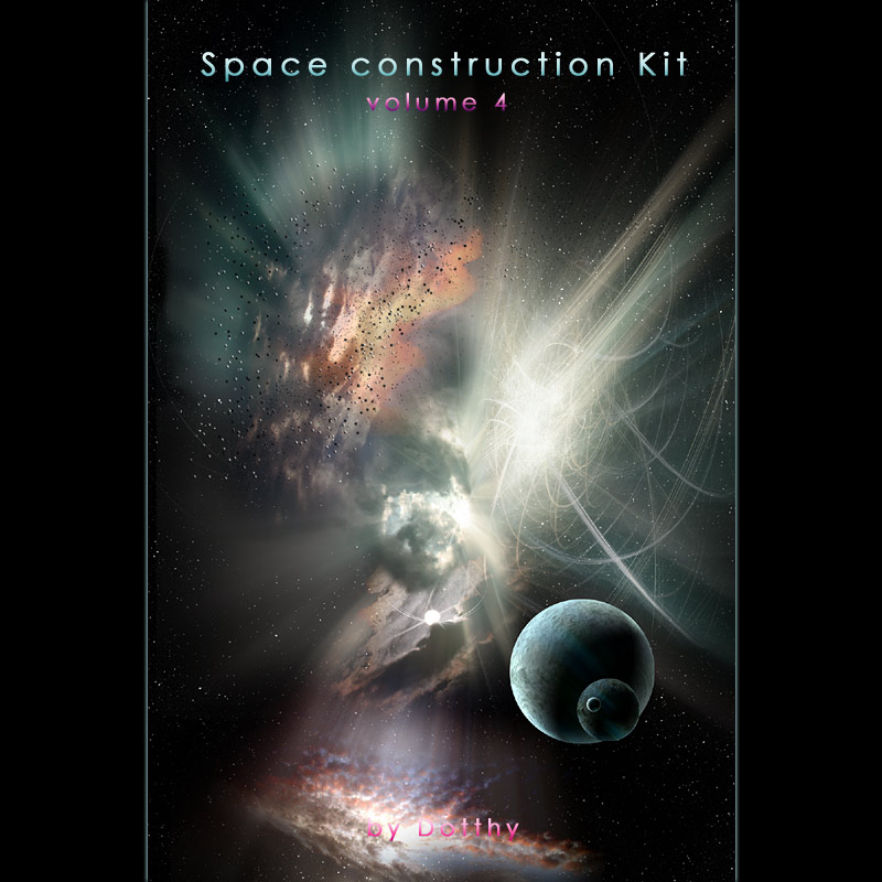 Space Construction Kit  for Photoshop Volume 4