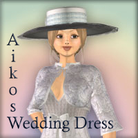 Aikos Wedding Dress  Elke