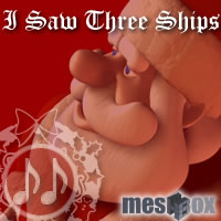Toon Santa's Christmas Classics: I Saw Three Ships (MTS1V106-MP3-192) 3D Models chikako