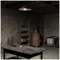 Scary Basement (Poser & Vue) Themed Props/Scenes/Architecture RPublishing