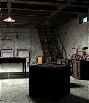 Scary Basement (Poser & Vue) 3D Models RPublishing
