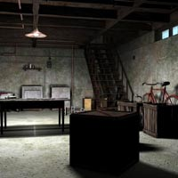 Scary Basement (Poser & Vue) image 1