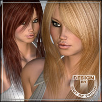 °Radiant Jaguar Shades° Textures & Styles for Radiant Jaguar Hair 3D Figure Assets outoftouch