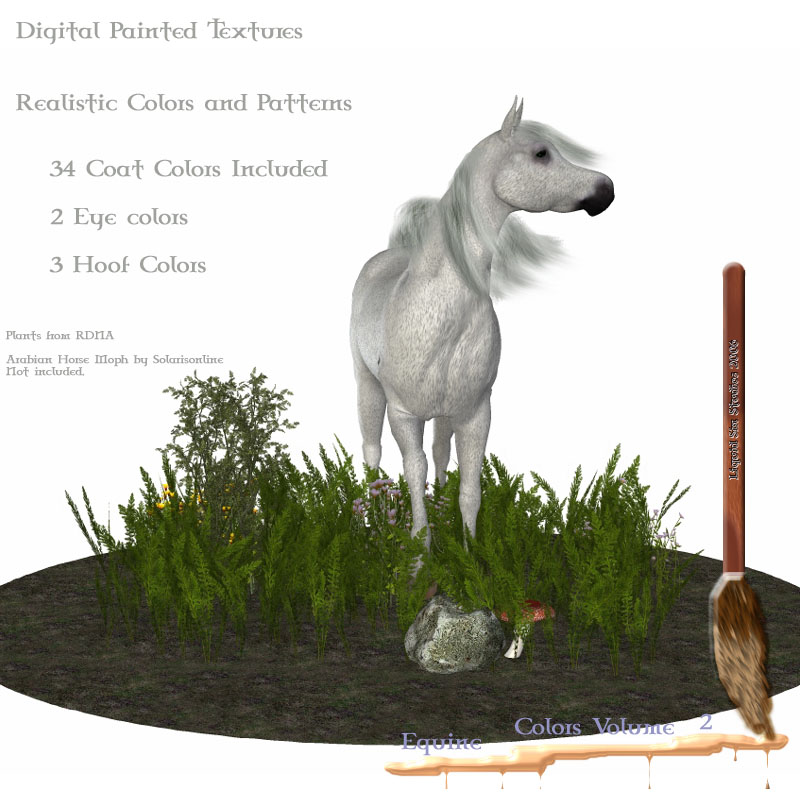 Equine Colors Vol. 2 for Daz Mil Horse