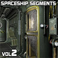 Spaceship Segments Vol2 3D Models coflek-gnorg