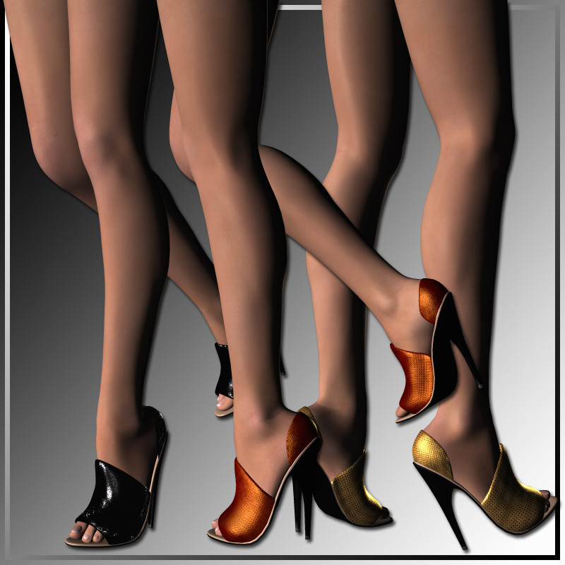 Extreme High Heels and 30 Styles for Vicky 4 by karanta