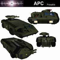 Armoured Personel Carrier  Simon-3D