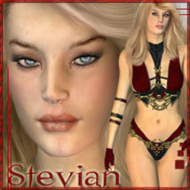 Stevian for V3 3D Figure Assets 3D Models ilona