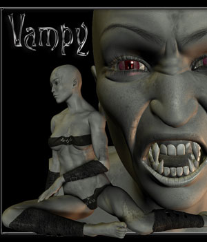 Vampy V4 3D Figure Essentials PureEnergy