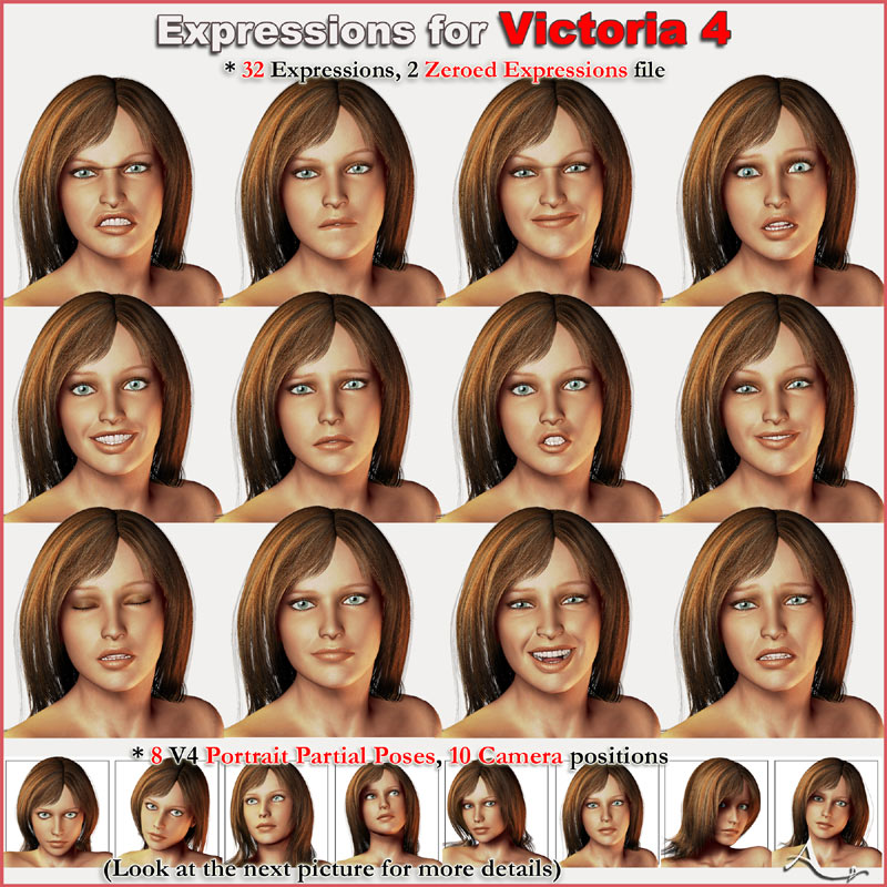 Expressions for Victoria 4