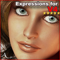 Expressions for Victoria 4 3D Figure Essentials A_