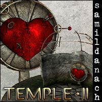 Temple 2 - set for POSER 3D Models _samildanach_