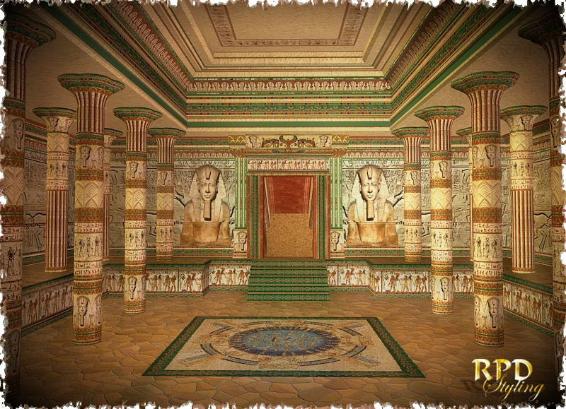 Pharaohs Hall Of Glory For Pharaoh S Temple Amp Egyptian