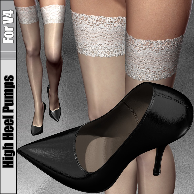 High Heel Pumps For V4