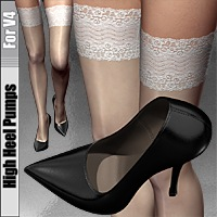 High Heel Pumps For V4 Footwear idler168