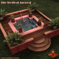 Jacuzzi's (2) Egyptian and Tropical    SAMS3D