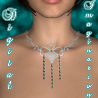 10 Textures for the V4 Morphing Fantasy Collar by Victoria_Lee