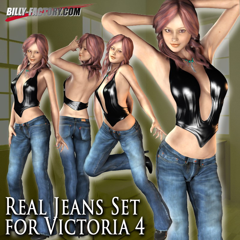 Real Jeans Set for V4