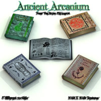 Ancient Arcanium 3D Models Poisen